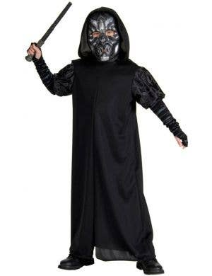 Harry Potter - Death Eater Boys Fancy Dress Costume