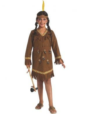 Classic Native American Girls Book Week Costume