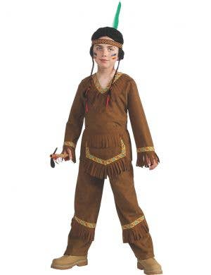 Native American Boys Fancy Dress Costume