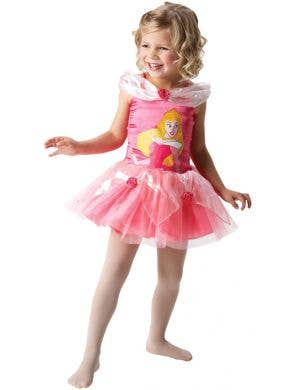 Sleeping Beauty Girl's Disney Princess Aurora Ballerina Costume