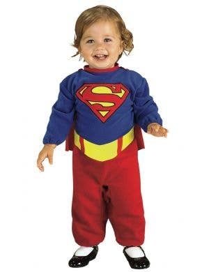 DC Comics Supergirl Infant Girls Costume