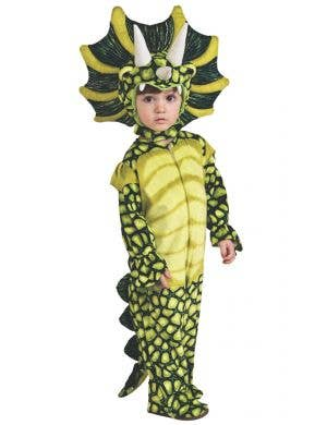 Triceratops Silly Safari Boys Dinosaur Fancy Dress Costume