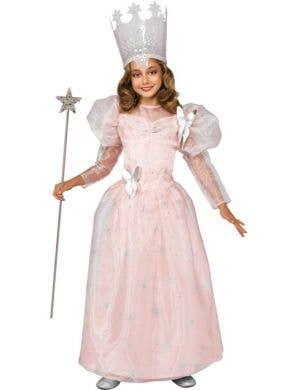 Wizard Of Oz -Deluxe Girls Glinda Costume