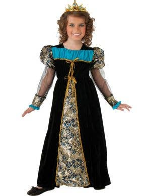 Girl's Renaissance Princess Costume Front View