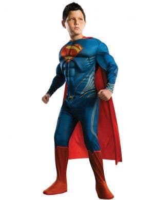 Man Of Steel Boys Superman Book Week Costume
