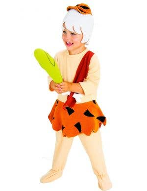 Kids Bamm-Bamm Rubble Fancy Dress Costume Main Image