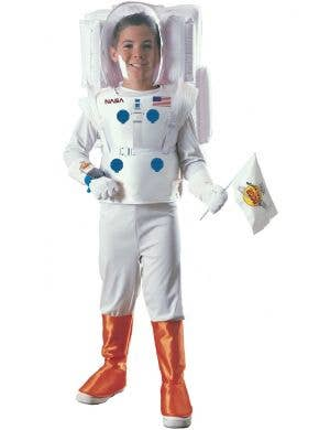 NASA Boy's White Astronaut Space Explorer Costume