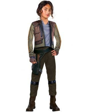 Star Wars Girls Jyn Erso Fancy Dress Costume Image 1