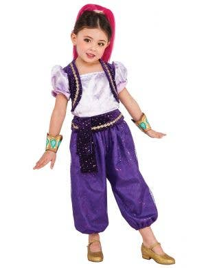 Shimmer Genie From Shimmer and Shine Girls Costume Main Image