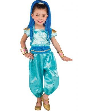 Shine Genie From Shimmer and Shine Girls Costume Main Image
