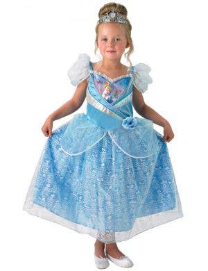 Girl's Cinderella Disney Princess Classic Shimmer Costume