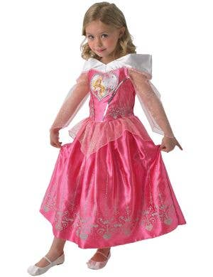 Disney Princess Sleeping Beauty Girls Fancy Dress Costume