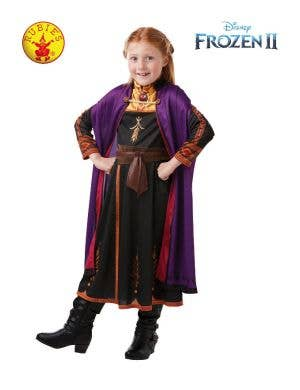 Frozen 2 - Girls Classic Anna Travelling Costume