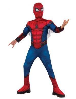 Spiderman Boy's Homecoming Book Week Fancy Dress Costume