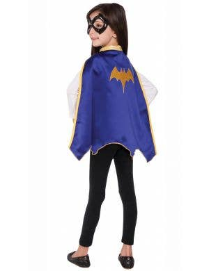 DC Super Hero Batgirl Kid's Costume Cape Accessory Set