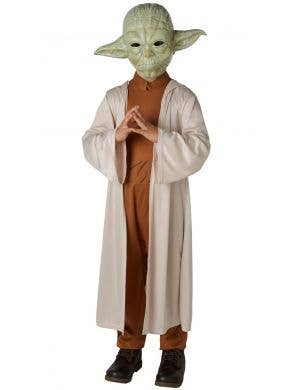Yoda Jedi Master Star Wars Boys Costume