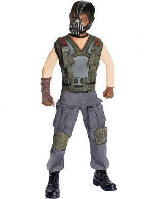 Boys Bane batman Dark Knight Trilogy Costume