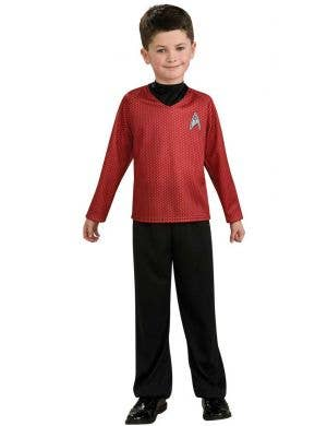 Boys Scotty Engineering Fancy Dress Costume