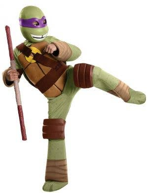 Boys Ninja Turtle Donatello Fancy Dress Costume