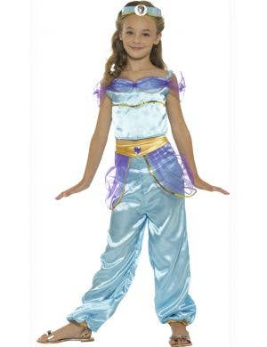 Princess Jasmine Girls Arabian Book Week Costume Front Image