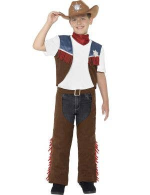 Texas Cowboy Boys wild West Costume Main Image