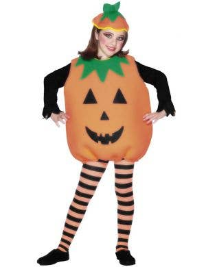 Orange Pumpkin Kids Halloween Costume