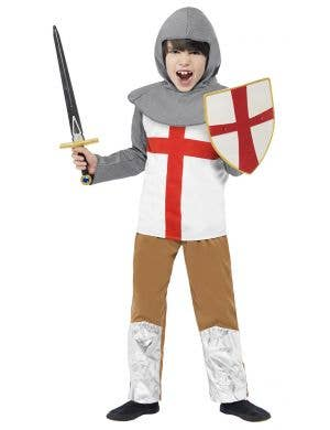 Horrible Histories Medieval Knight Boys Book Week Costume Front View