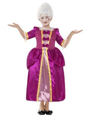 Girls Marie Antoinette Book Week Costume Front View
