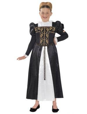 Girls Mary Queen of Scotland Book Week Costume Front View