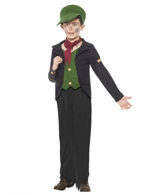 Boys Chimney Sweep Book Week Costume Front View