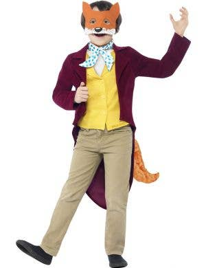 Roald Dahl Fantastic Mr Fox Boys Book Week Costume Front Image