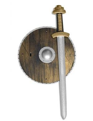 Roman Gladiator Sword and Shield Set