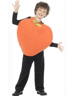 Kids Peach From James and the Giant Peach Book Week Costume Front