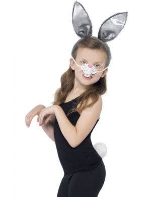 Kids Easter Bunny Costume Kit Main Image