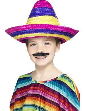 Children's Mexican Sombrero Book Week Costume Accessory