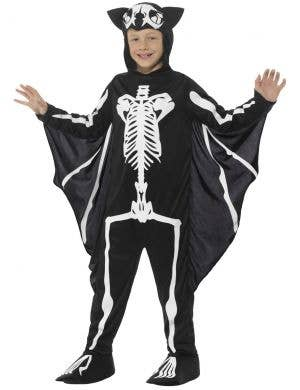 Bat Skeleton Boys Halloween Costume
