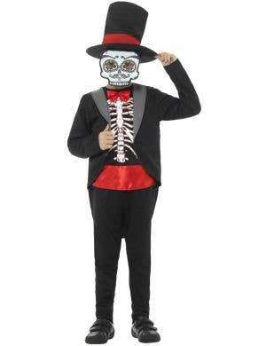 Day Of The Dead Boy's Halloween Costume