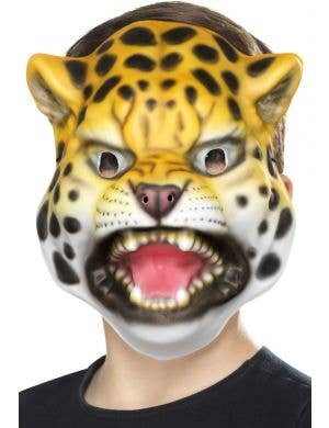 Kids Novelty Wild Leopard Book Week Animal Costume Mask