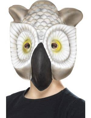 White Owl Kids Novelty Book Week Animal Costume Mask