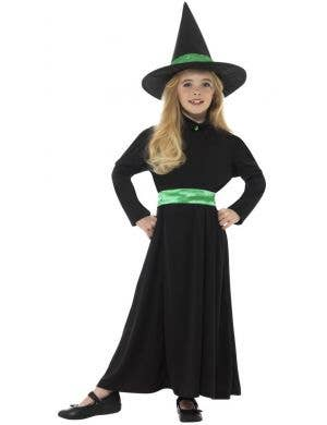 Wicked Witch Halloween Girls Costume