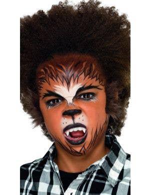 Halloween Makeup For Kids Boy.Wolf Face Paints And Body Paints Costume Makeup Online
