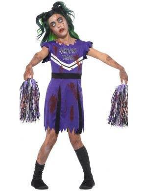 Scream Team Girls Zombie Cheerleader Costume