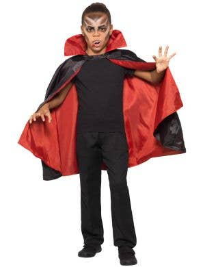 Bloodthirsty Vampire Reversible Kids Halloween Cape