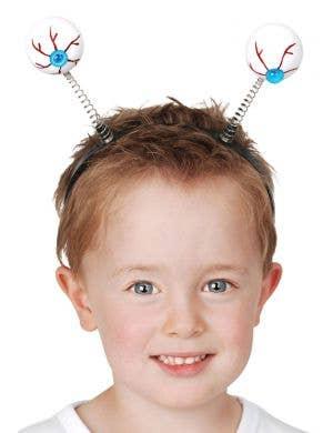 Eyeballs on a Headband Halloween Costume Accessory