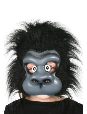 Kids Gorilla Fancy Dress Costume Mask