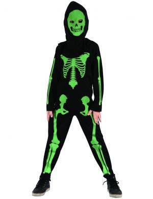 Skeleton Boy Halloween Fancy Dress Costume