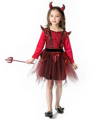 Devil Girl Halloween Fancy Dress Costume