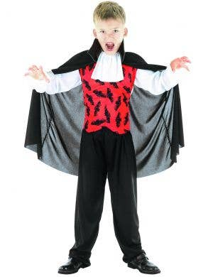 Bat Vampire Boys Halloween Costume