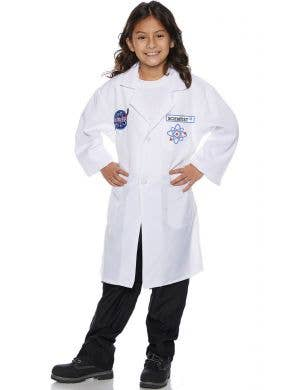 Rocket Scientist Lab Coat Kids Fancy Dress Costume
