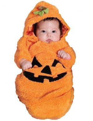 Cute Pumpkin Newborn Bunting Halloween Costume